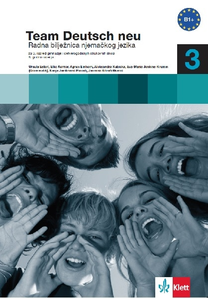 team deutsch NEU 3 : radna bilježnica njemačkog jezika