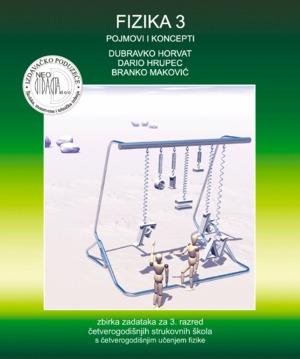 fizika 3, POJMOVI i koncepti : ZBIRKA zadataka za 3. razred četverogodišnjih strukovnih škola s ČETVEROGODIŠNJIM učenjem fizi