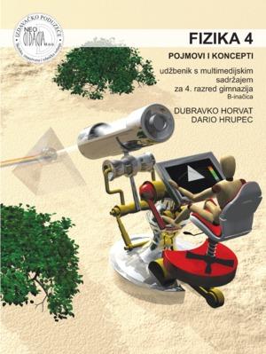 FIZIKA 4 : POJMOVI I KONCEPTI : udžbenik s multimedijskim sadržajem (B - inačica)  za 4. razred gimnazija (B - inačica) autora Dubravko Horvat, Dario Hrupec