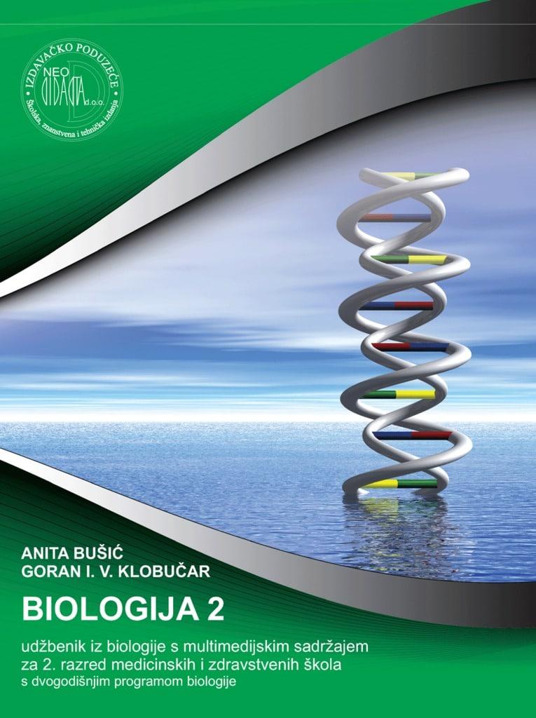BIOLOGIJA  2 : udžbenik iz biologije s multimedijskim sadržajem