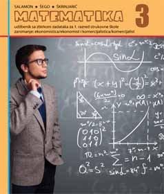 MATEMATIKA 3 : udžbenik za  ekonomiste i komercijaliste autora Đurđica Salamon Padjen, Boško Šego, Tihana Škrinjarić