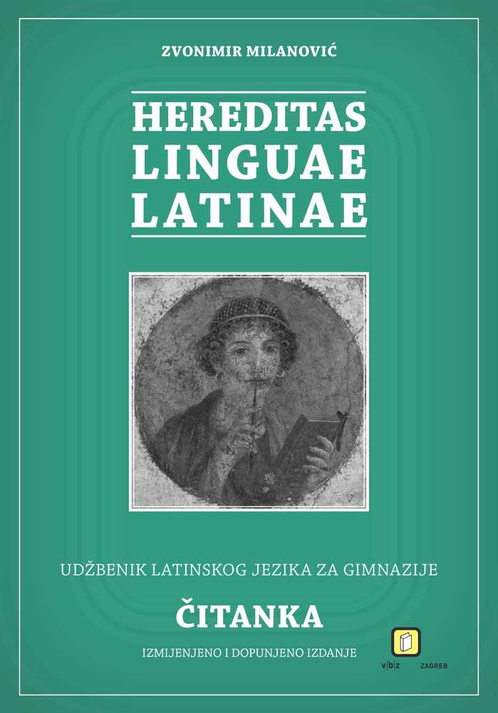 Hereditas linguae latinae: radna bilježnica latinskog jezika