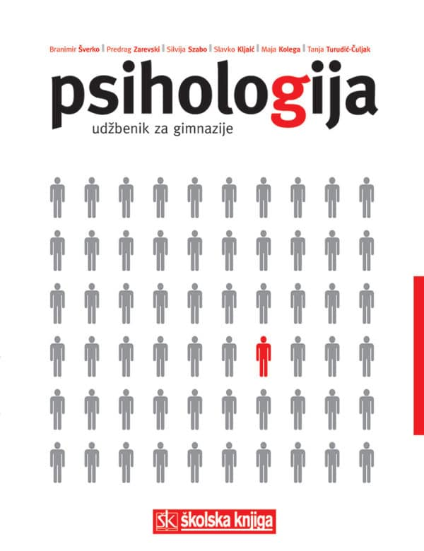PSIHOLOGIJA : udžbenik za gimnazije autora Slavko Kljajić, Maja Kolega, Silvija Szabo, Branimir Šverko, Tanja Turudić-Ćuljak, Predrag Zarevski