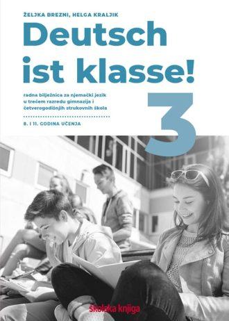 deutsch ist klasse! 3: radna bilježnica njemačkog jezika