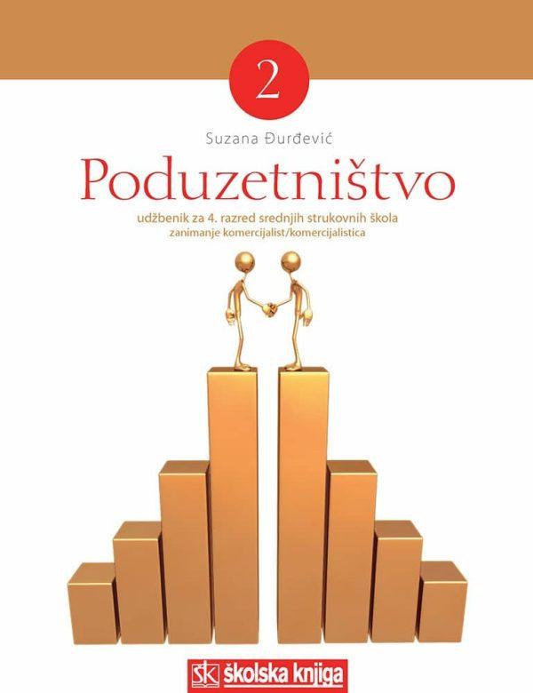 PODUZETNIŠTVO 2 : udžbenik za 4. razred, zanimanje komercijalist/komercijalistica autora Suzana Đurđević