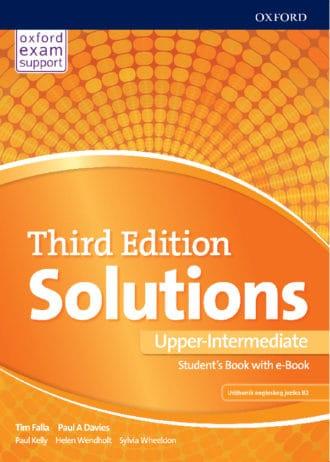 Tim Falla, Paul A. Davies - SOLUTIONS THIRD EDITION PRE-INTERMEDIATE udžbenik engleskog jezika B1,