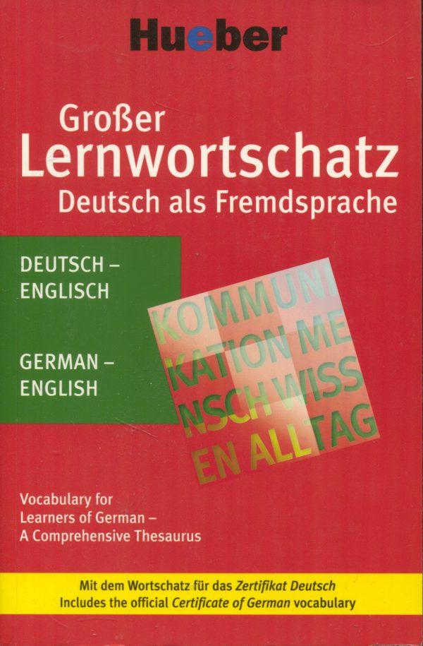 Grosser Lernwortschatz Deutsch als Fremdsprache Monika Reimann, Sabine Dinsel
