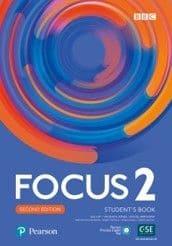 FOCUS 2 2nd EDITION : udžbenik za 2., ili 2. ili 2. i 3. ili 3. razred četvrtogodišnjih škola, drugi ili prvi strani jezik (7., 8., 10. i 11. godina učenja); za 2. razred medicinskih škola, drugi ili prvi strani jezik (7. ili 10. godina učenja); za 2. razred gimnazija, drugi strani jezik (7. godina učenja) autora Sue Kay, Vaughan Jones, Daniel Brayshaw