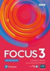 FOCUS 3 2nd EDITION : with extra online practice :  za 2. razred gimnazija, autora Sue Kay, Vaughan Jones, Daniel Brayshaw
