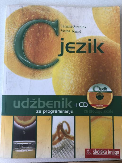 JEZIK C : udžbenik i CD s riješenim primjerima za 2. i 3. razred srednjih strukovnih škola autora Tatjana Androković, Vesna Tomić