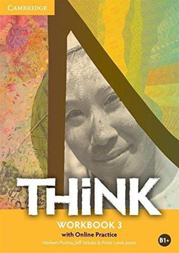 Think B1+: radna bilježnica engleski kao I. strani jezik za 1. ili 2. razred gimnazija i četverogodišnjih strukovnih škola autora Herbert Puchta, Jeff Stranks, Peter Lewis-Jones