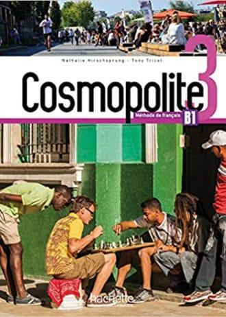 COSMOPOLITE 3 udžbenik - za francuski jezik, 3 i/ili 4 razred gimnazije, 1. i 2. strani jezik (početno i napredno učenje) - Nathalie Hirschsprung, Tony Tricot