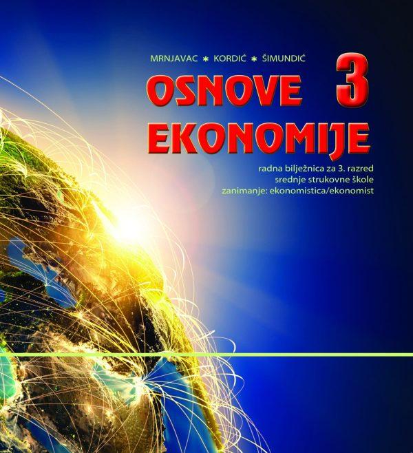 osnove ekonomije 3, radna bilježnica autora Mrnjavac-Kordić-Šimundić