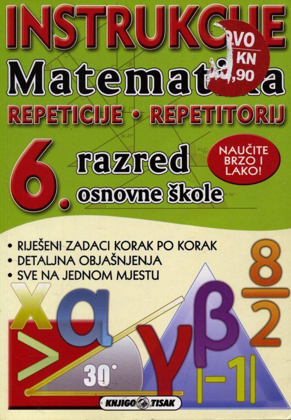Ivana Hartmann - Matematika - instrukcije - 6. razred osnovne škole