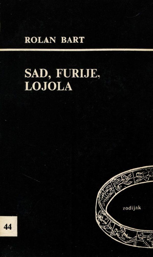Barthes Roland  - Sade, Fourier, Loyola
