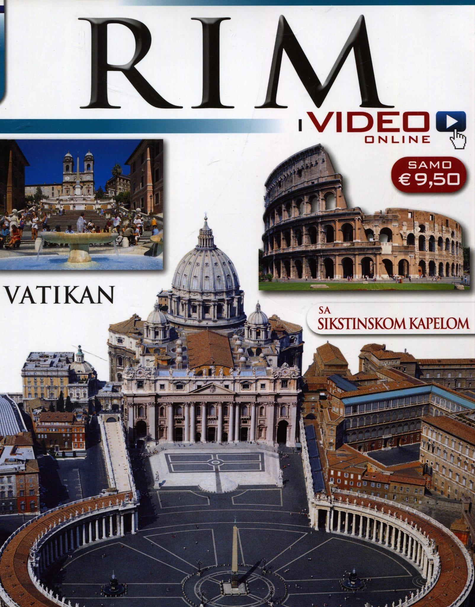 G.A. - Rim i Vatikan sa Sikstinskom kapelom