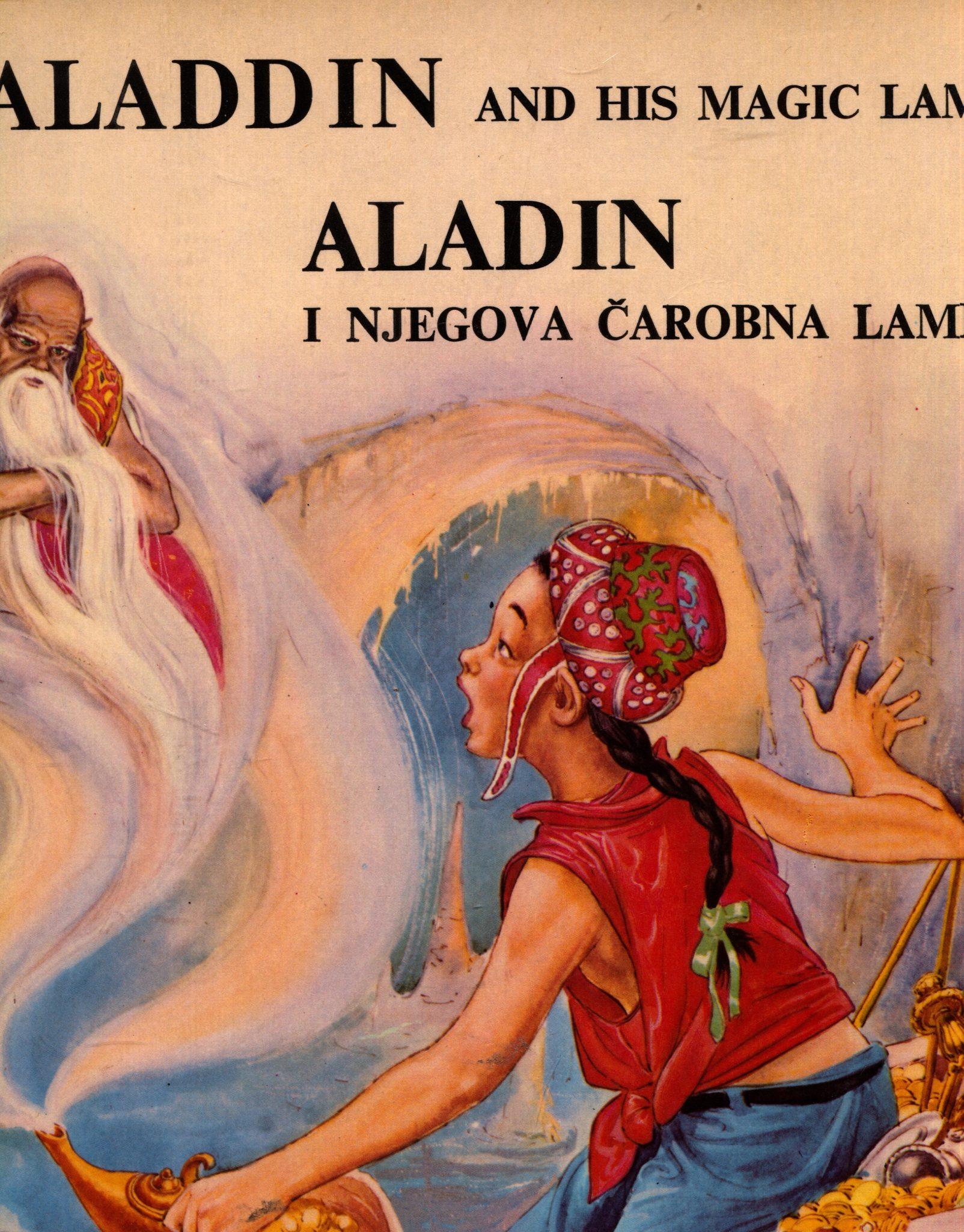 Aladin i njegova čarobna lampa Čedomir Jović preveo