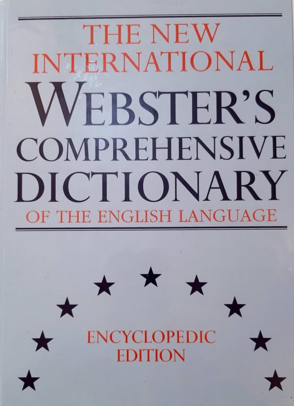 The New International Webster s Comprehensive Dictionary of the English Language Allen Walker Read