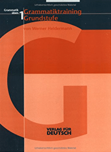 Grammatiktraining Grundstufe Werner Heidermann