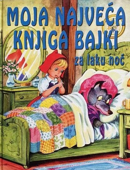 Moja najveća knjiga bajki za laku noć Marjan Tisak
