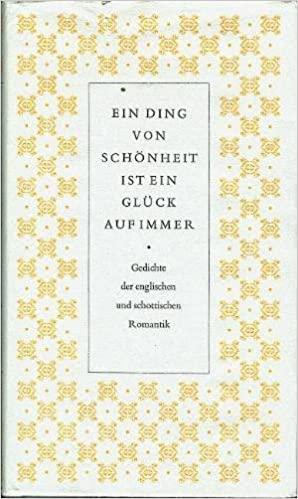 Reclam Verlag Philipp  - Ein ding von schonheit ist ein gluck auf immer