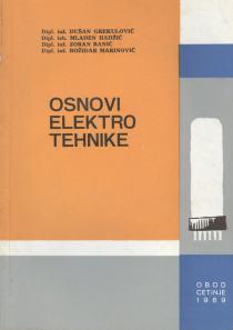 Osnovi elektrotehnike Grekulović, Ranić, Marinović, Hadžić