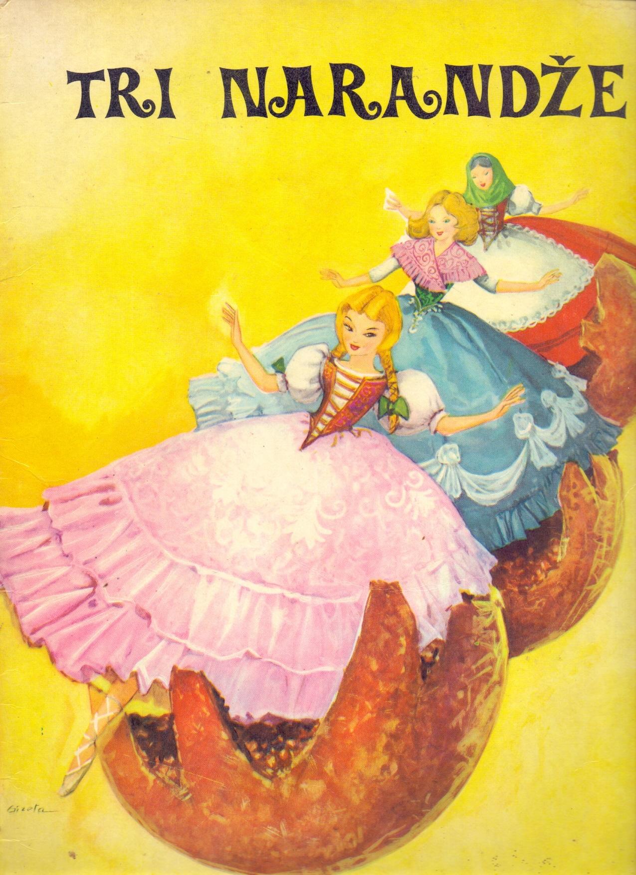 Biblioteka Dječji svijet - Tri narandže