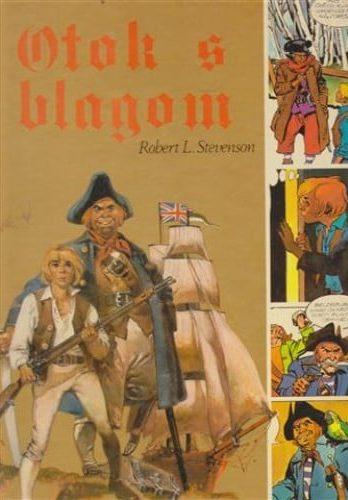 Robert L. Stevenson (autor) Ramon de la Fuente (ilustracije) - Otok s blagom