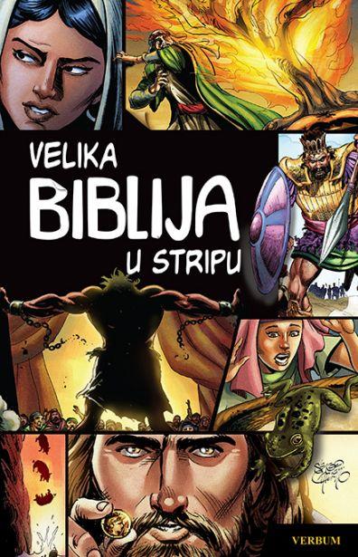 Velika Biblija u stripu Sergio Cariello