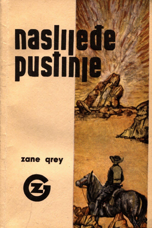 Naslijeđe pustinje Grey Zane