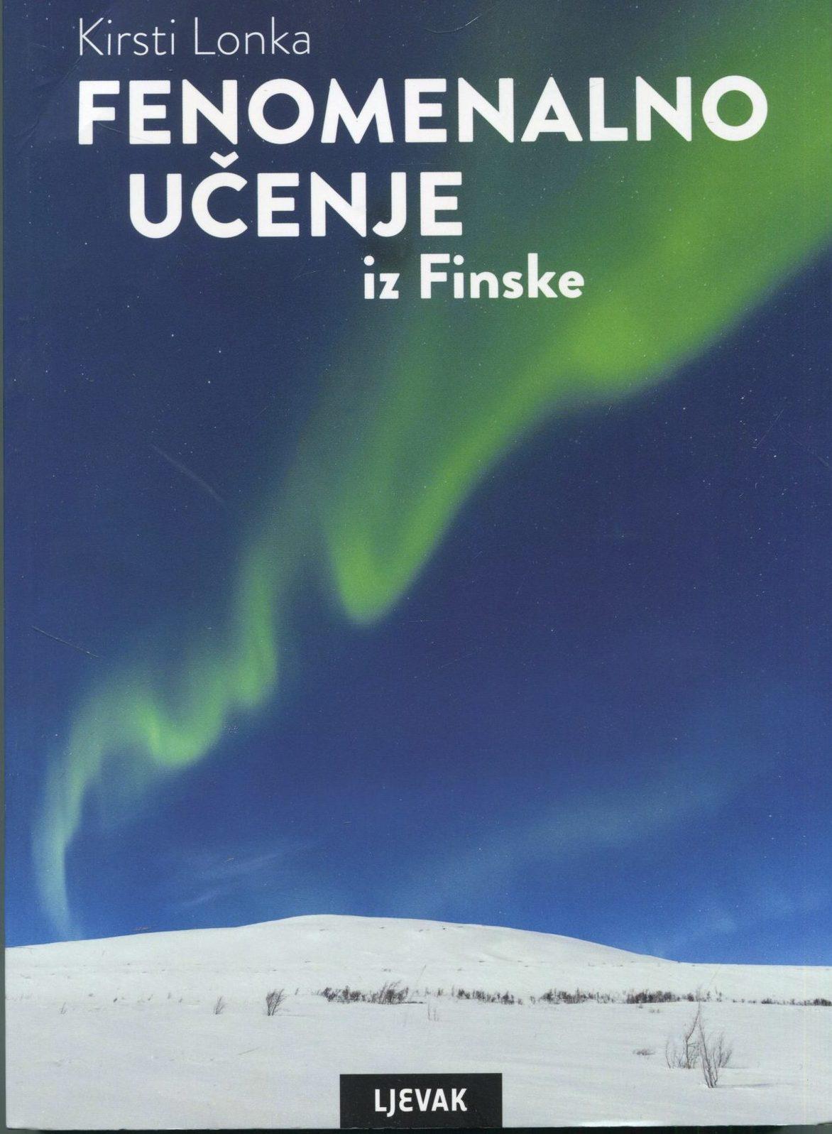 Fenomenalno učenje iz Finske Kirsti Lonka