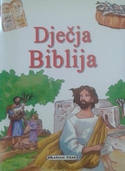 Dječja Biblija Antonio Perera ilustrirao