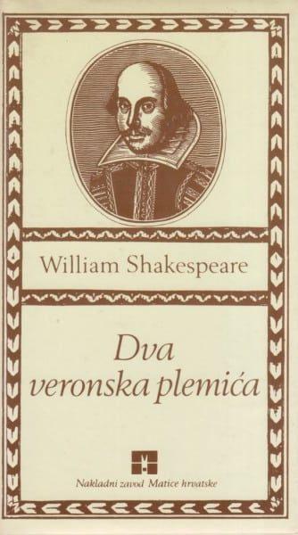 Dva veronska plemića Shakespeare William