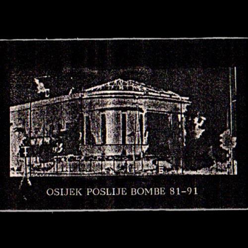 Razni izvođači Osijek poslije bombe 81-91