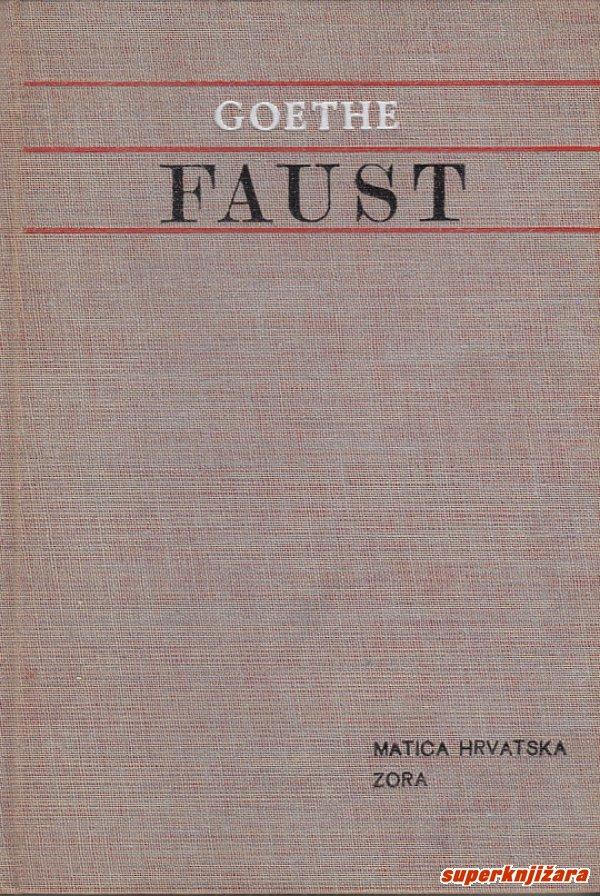 Faust Goethe Johann Wolfgang