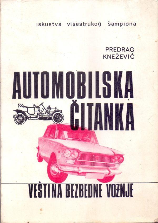 Automobilska čitanka Predrag Knežević