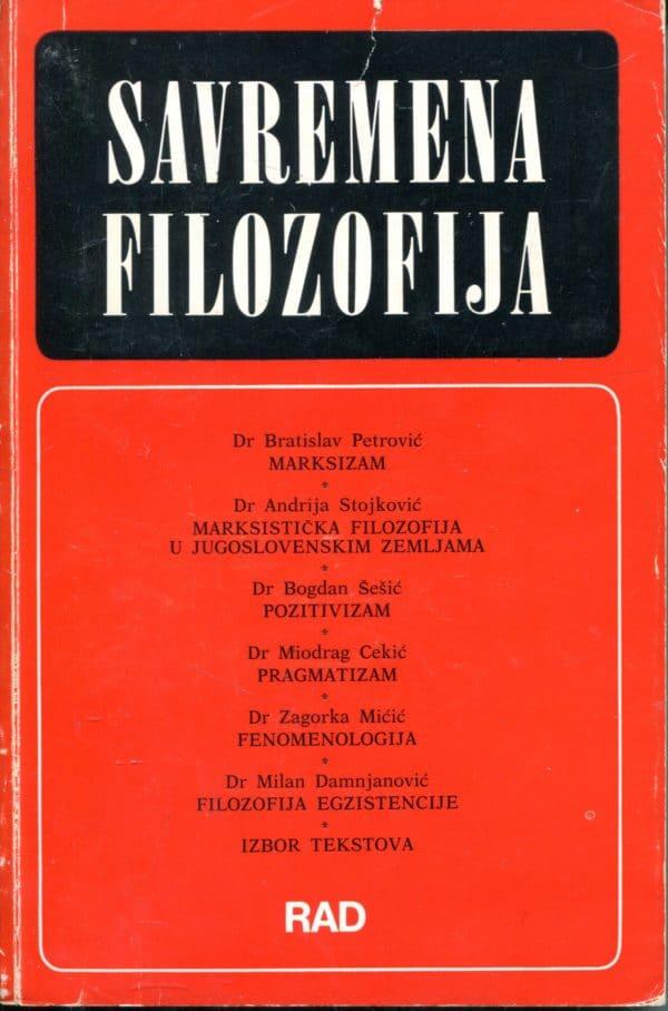 Savremena filozofija Zorica Ralević