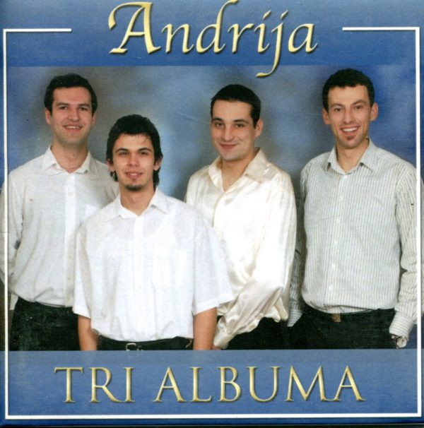 Tri albuma Andrija