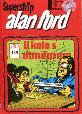 Alan Ford 189 Max Bunker