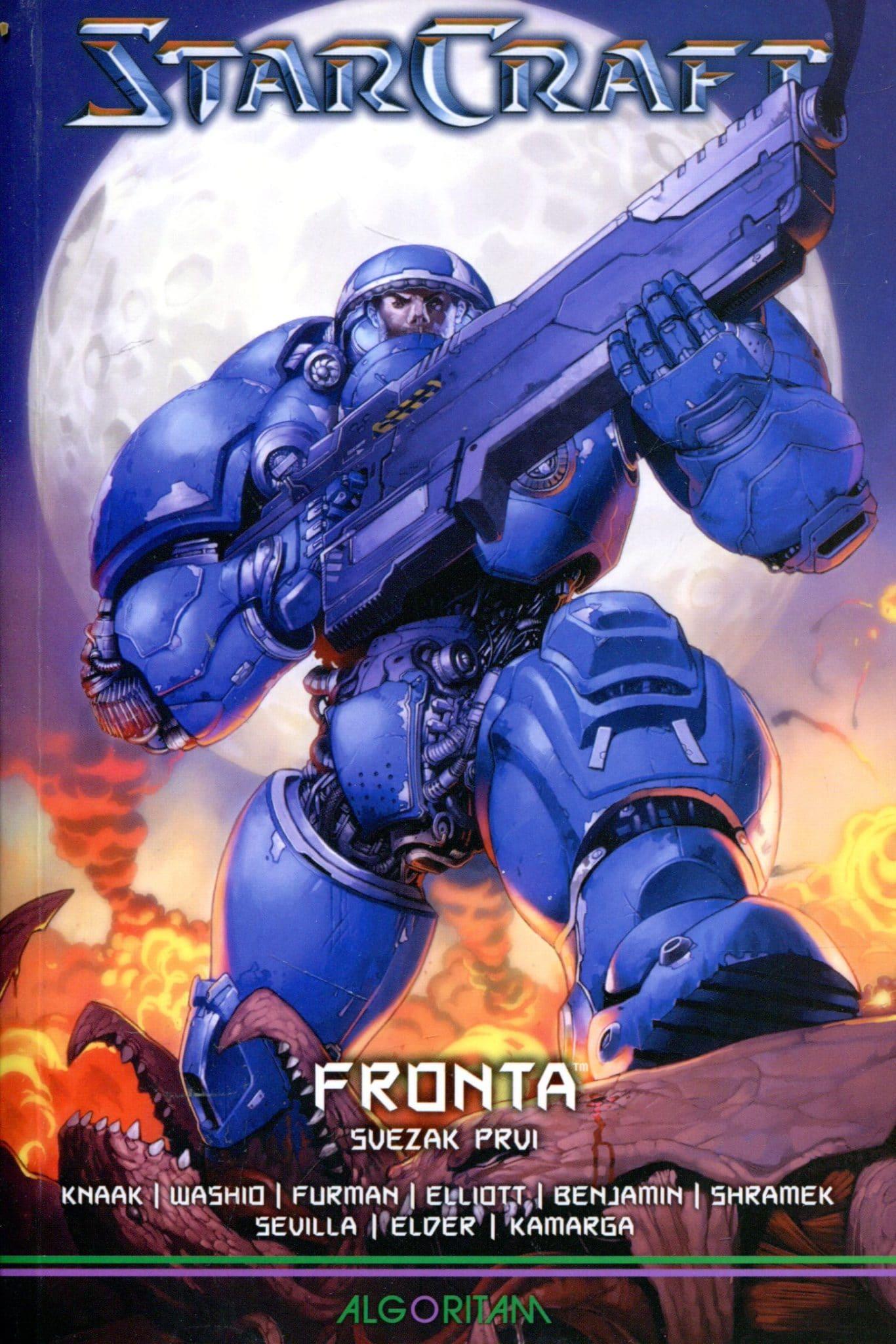 StarCraft - Fronta 1-2 Elder, Kamarga, Knaak, Washio, Benjamin...