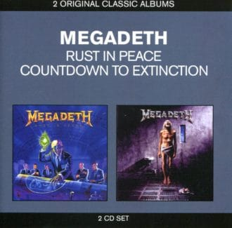 Rust in Peace / Countdown to Extinction Megadeth