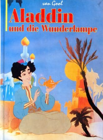 Aladdin und die Wunderlampe Van Gool, Lefevre, Louiseaux (ilustracije)