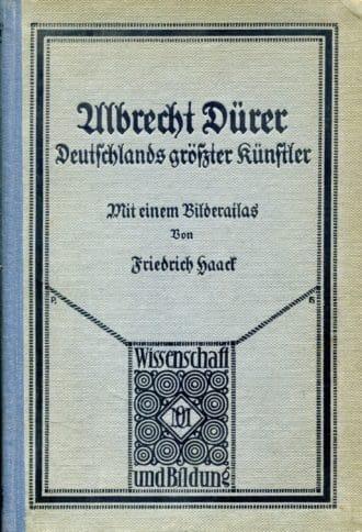 Albrecht Dürer Friedrich Haack