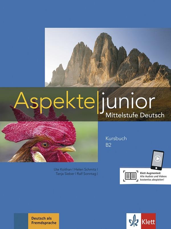 ASPEKTE JUNIOR B2 : udžbenik za njemački jezik, 4. razred gimnazija, 9. i 12. godina učenja, prvi i drugi strani jezik (početno i napredno učenje) autora Ute Koithan, Helen Schmitz, Tanja Sieber, Ralf Sonntag