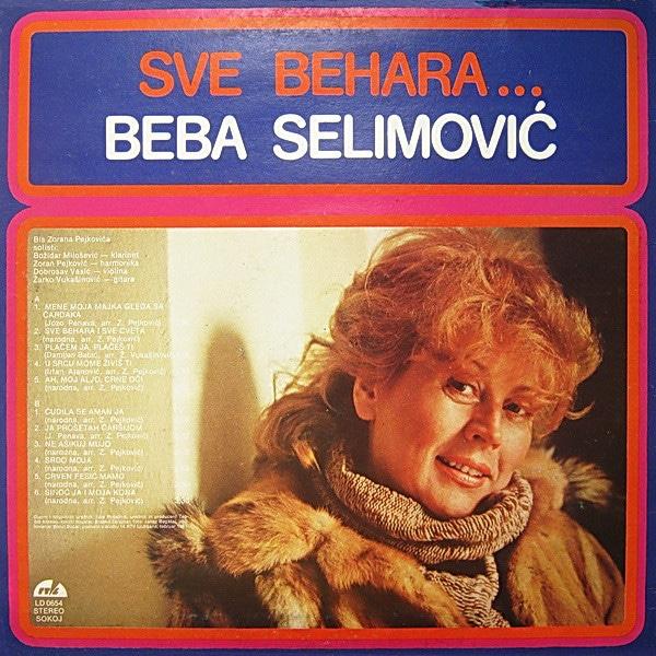Gramofonska ploča Beba Selimović Sve Behara LD 0654