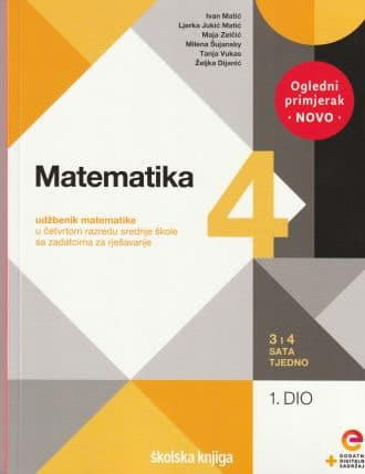 MATEMATIKA 4, I. I II. DIO : udžbenik matematike