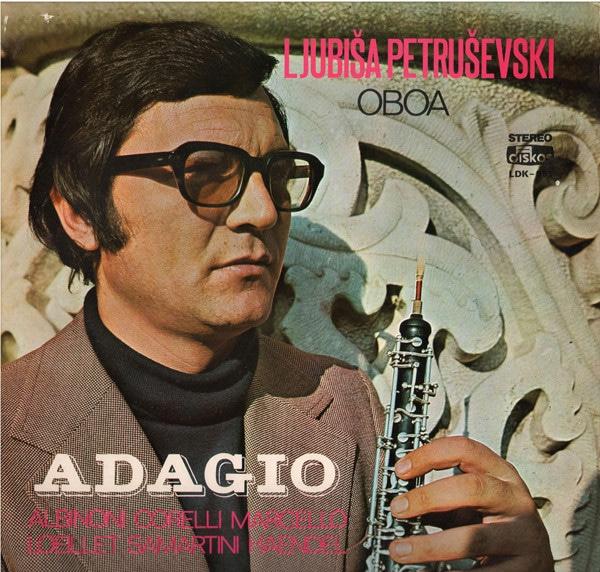 Gramofonska ploča Ljubiša Petruševski Adagio LDK-951