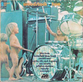 Gramofonska ploča Woodstock Two Jimi Hendrix / Jimi Hendrix / Joan Baez... ATL 60002