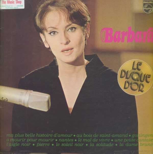Gramofonska ploča Barbara Le Disque D'Or De Barbara 9120 143