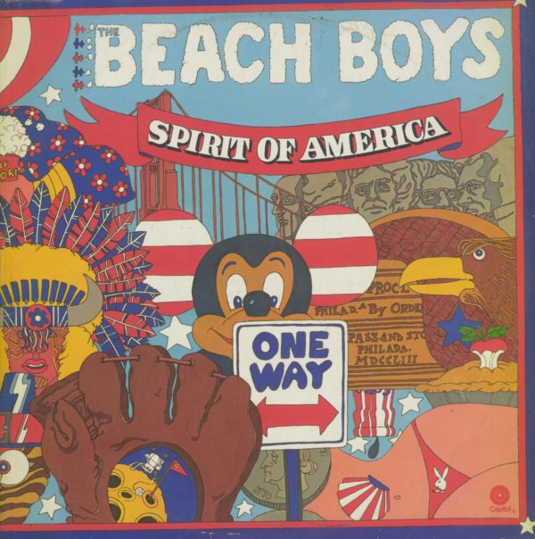 Gramofonska ploča Beach Boys Spirit Of America 1C 152-81 887/88